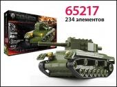 Конструктор World of tanks КВ - 85 1943 234 деталей фото