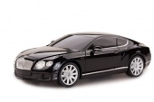 Машина р/у 1:24 Bentley Continental GT speed, цвет чёрный 27MHZ фото