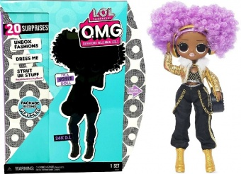 Кукла LOL Surprise OMG 24K D.J. Fashion Doll